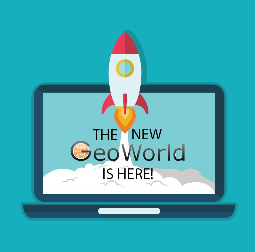 The wait is over! We are proud to announce the new GeoWorld platform!