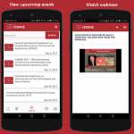 Argo-E develops new iOS and ANDROID mobile app for International Society