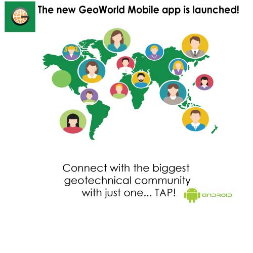 Argo-E develops new ANDROID mobile app for GeoWorld