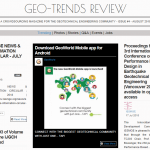 """Geo-Trends Review"" fourth issue is just published"