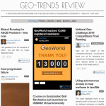 """""""Geo-Trends Review"""" seventh issue is just published"""