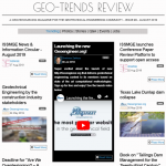 """""""Geo-Trends Review"""" eighth issue is just published"""